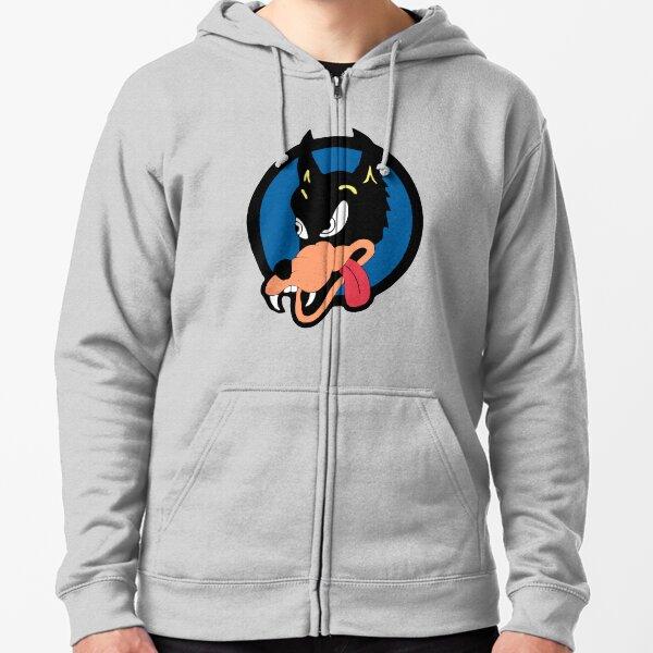 Jerry Garcia Wolf Zipped Hoodie