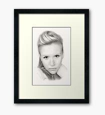"""Kerry"" Framed Print"