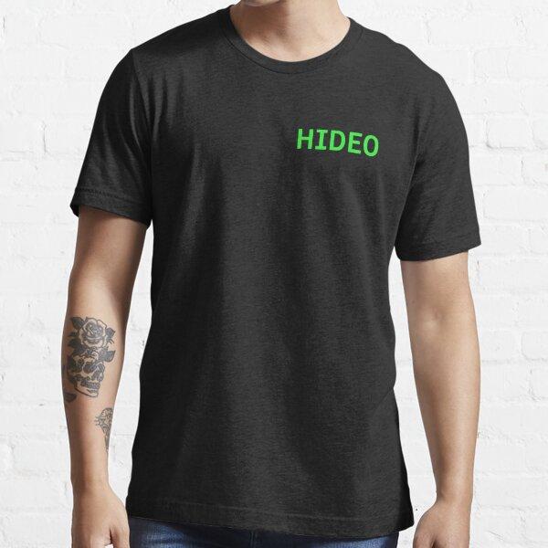 Hideo - Metal Gear Solid Essential T-Shirt