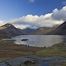 Blue sky over Wastwater by Steve plowman