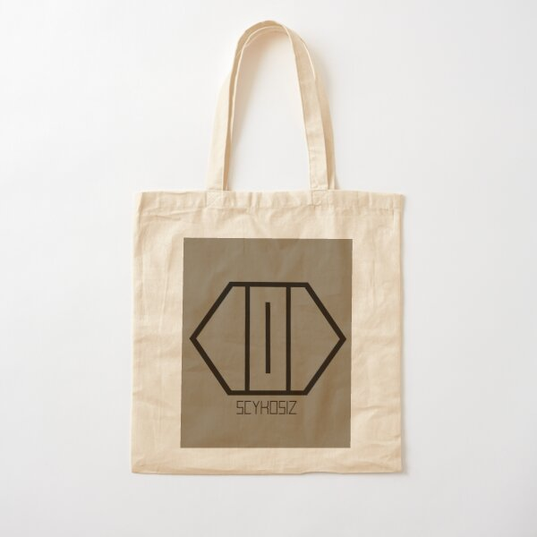 SCYKOSIZ - CATS EYE LOGO Cotton Tote Bag