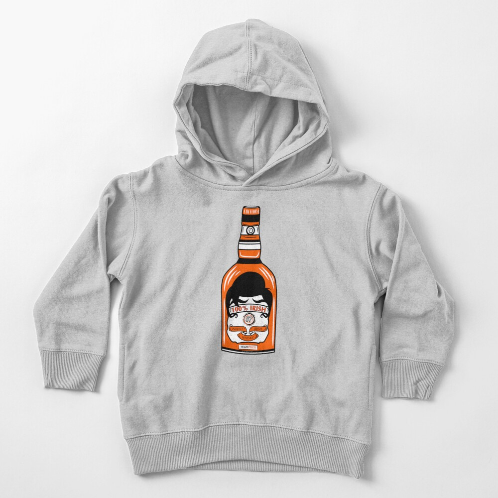Team Coco 100% Irish Conan O'Brien Inbred Whisky  Toddler Pullover Hoodie