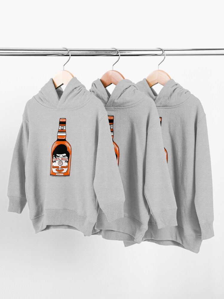 Alternate view of Team Coco 100% Irish Conan O'Brien Inbred Whisky  Toddler Pullover Hoodie