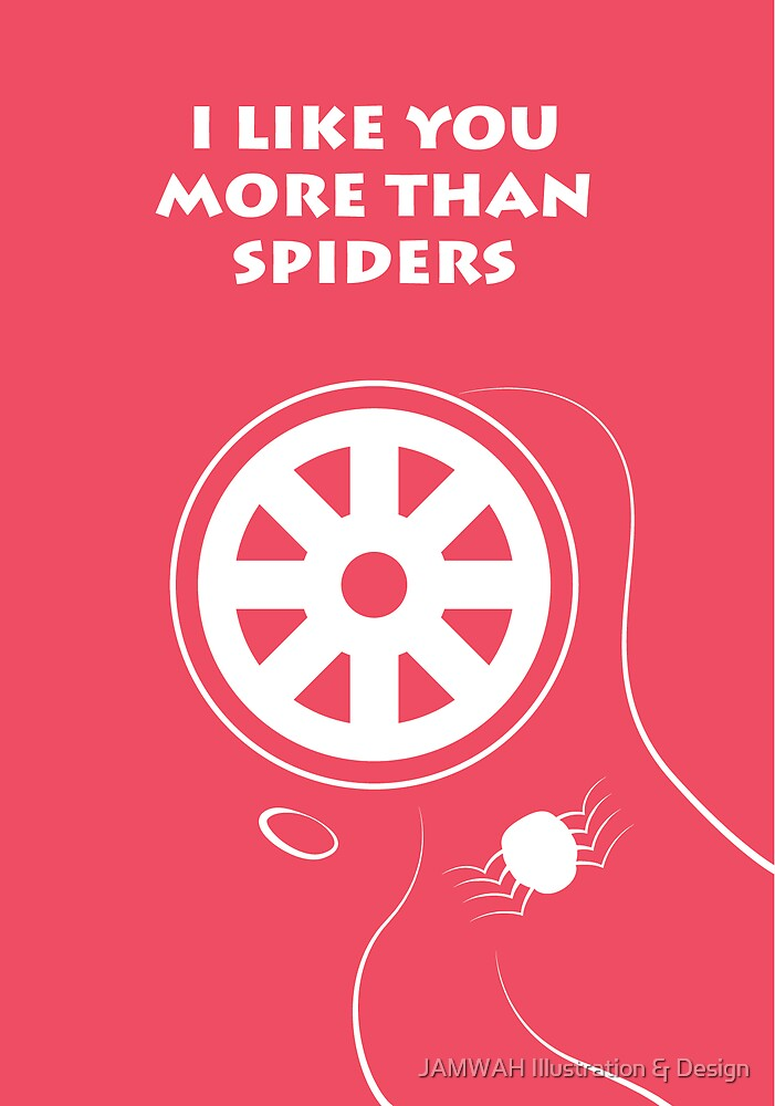 Spiders Valentine by JAMWAH Illustration & Design