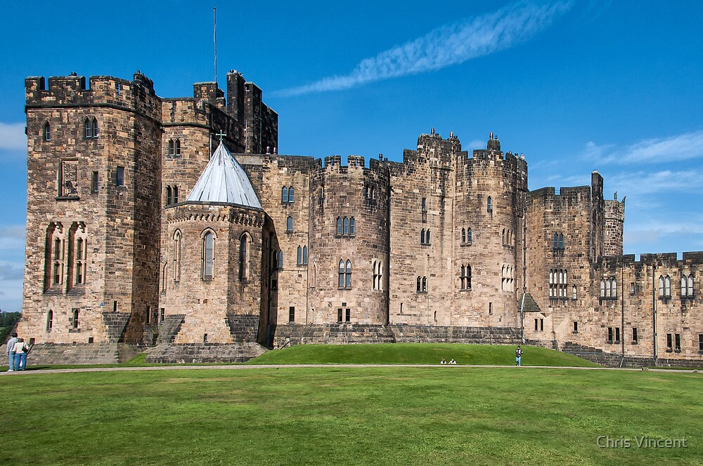 Alnwick Castle Courtyard by Chris Vincent