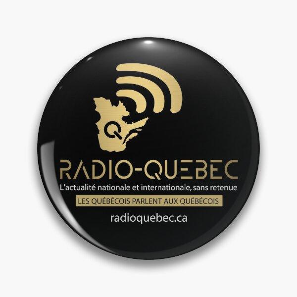 Radio-Quebec - Alexis Cossette-Trudel Pin