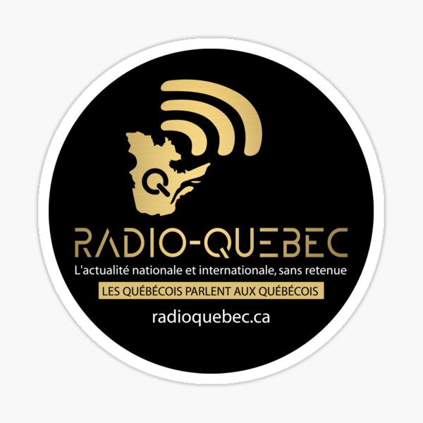 Radio-Quebec - Alexis Cossette-Trudel Sticker