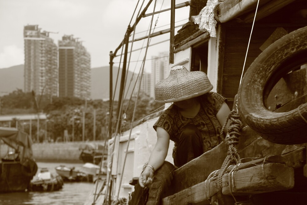 Home on the Boat by johnpap