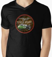 moto guzzi v8 historic bike Men's V-Neck T-Shirt