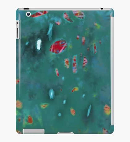 Peeking through the holes of hope iPad Case/Skin