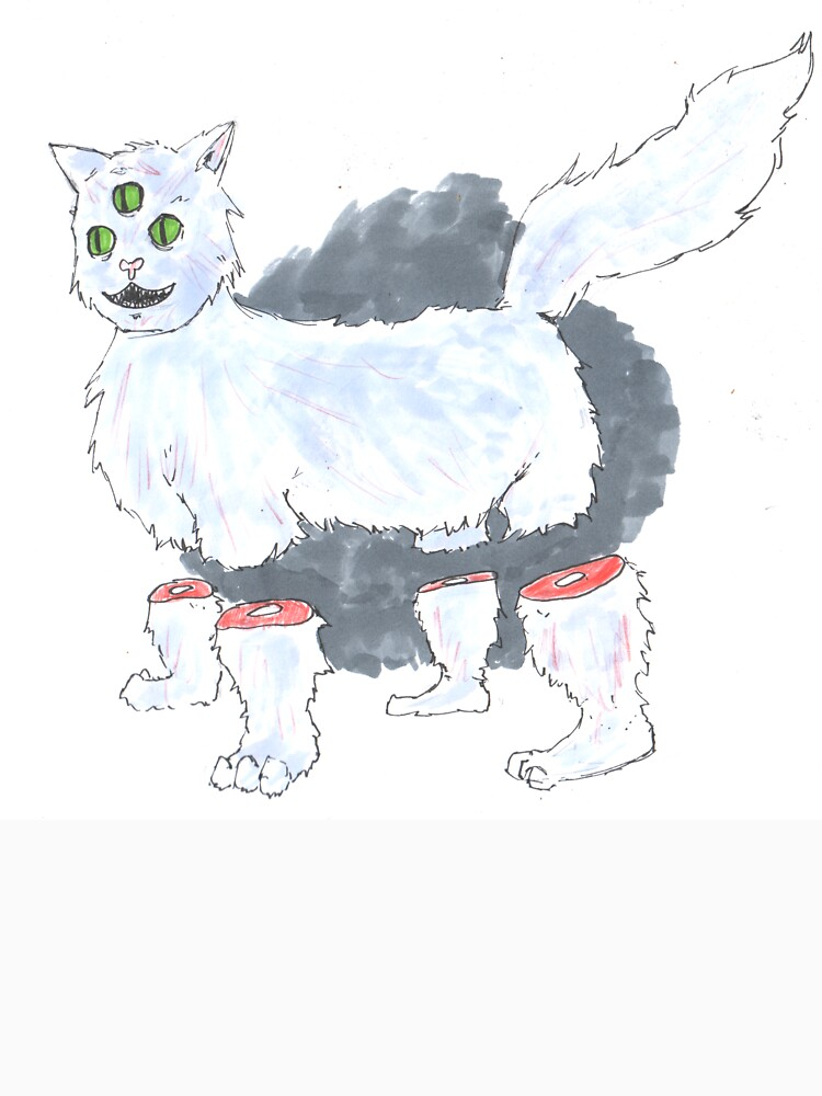 kitty friend by cbeamsglitter
