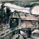 Covered Bridge Moon by Seth  Weaver