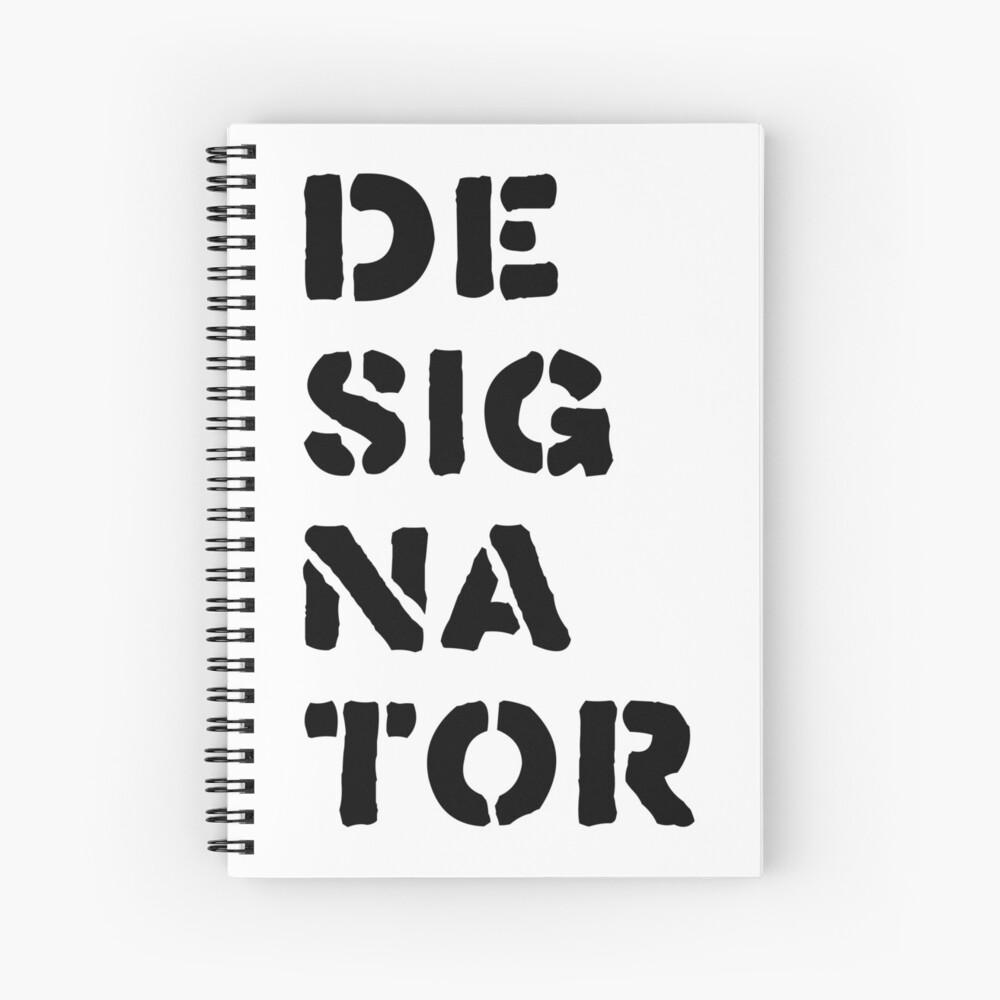 Designator Spiral Notebook