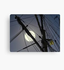 Is the sun over the yardarm yet........? Canvas Print