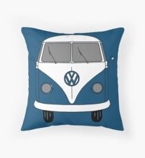 VW Bus Throw Pillow