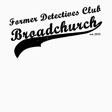 Former Detectives Club (black) by amobt