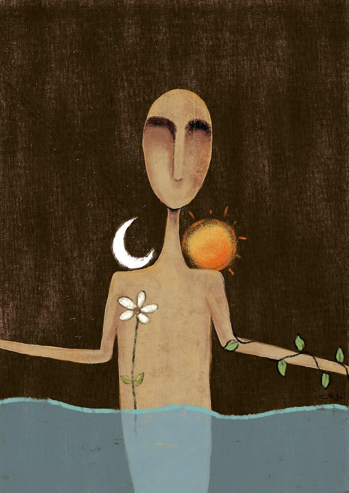 Human spirit by AmalAli