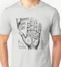 Palmreading - Vintage palmistry - Fortunetelling - NewAge - Tarot - Psychic Unisex T-Shirt