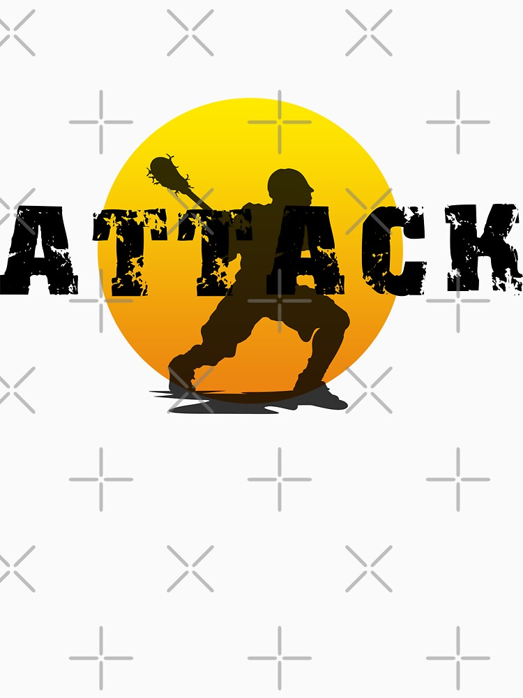 Lacrosse Attack by SportsT-Shirts