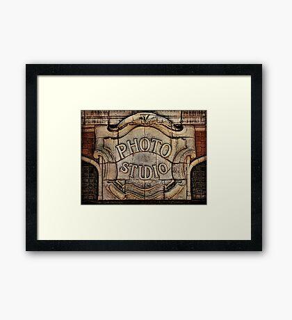 Otto Hillig's Studio Framed Print