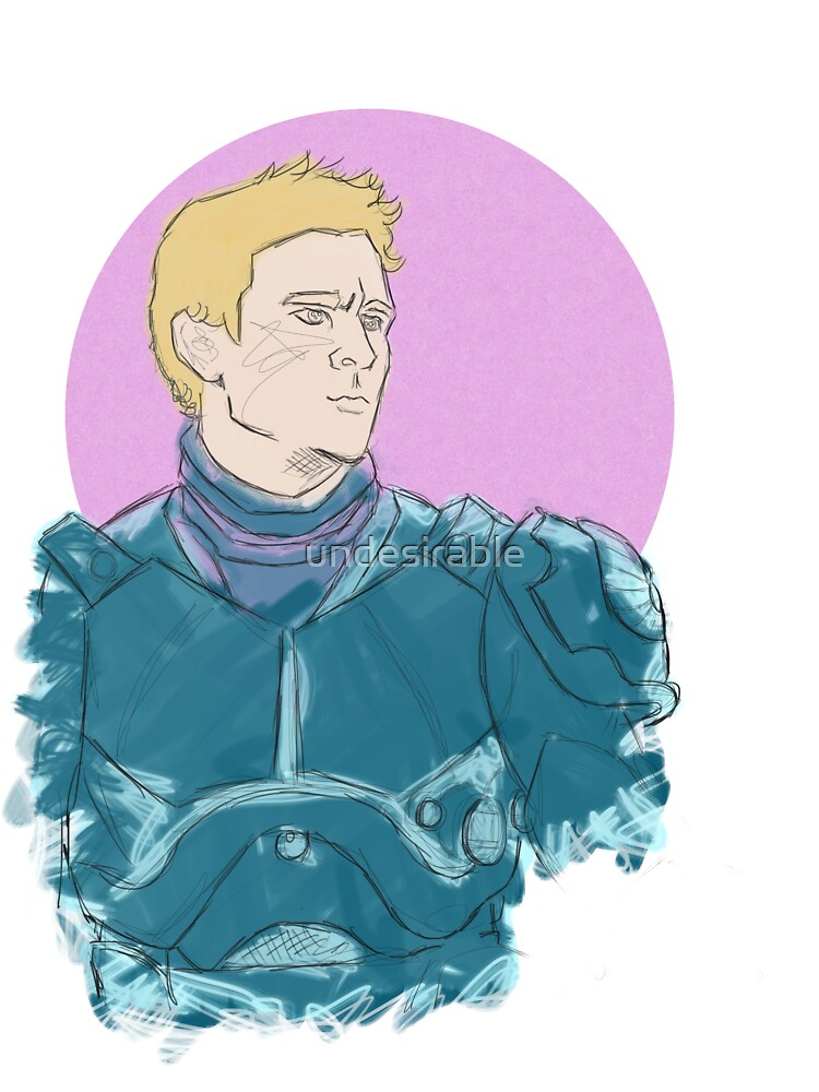 Raleigh, Gypsy Danger Pilot (Color) by undesirable