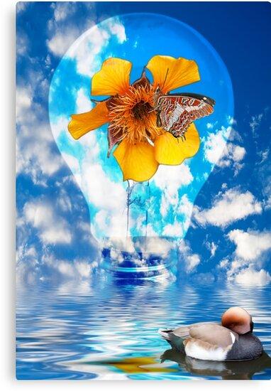 Flowering Bulb by Focal-Art