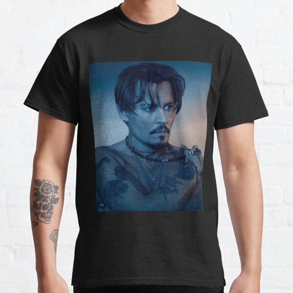 Fond d'écran Johnny Depp T-shirt classique