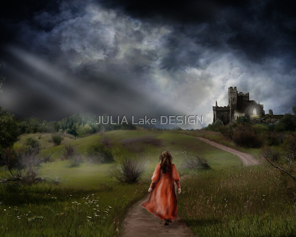 Walk to the castle by JULIA Lake DESIGN
