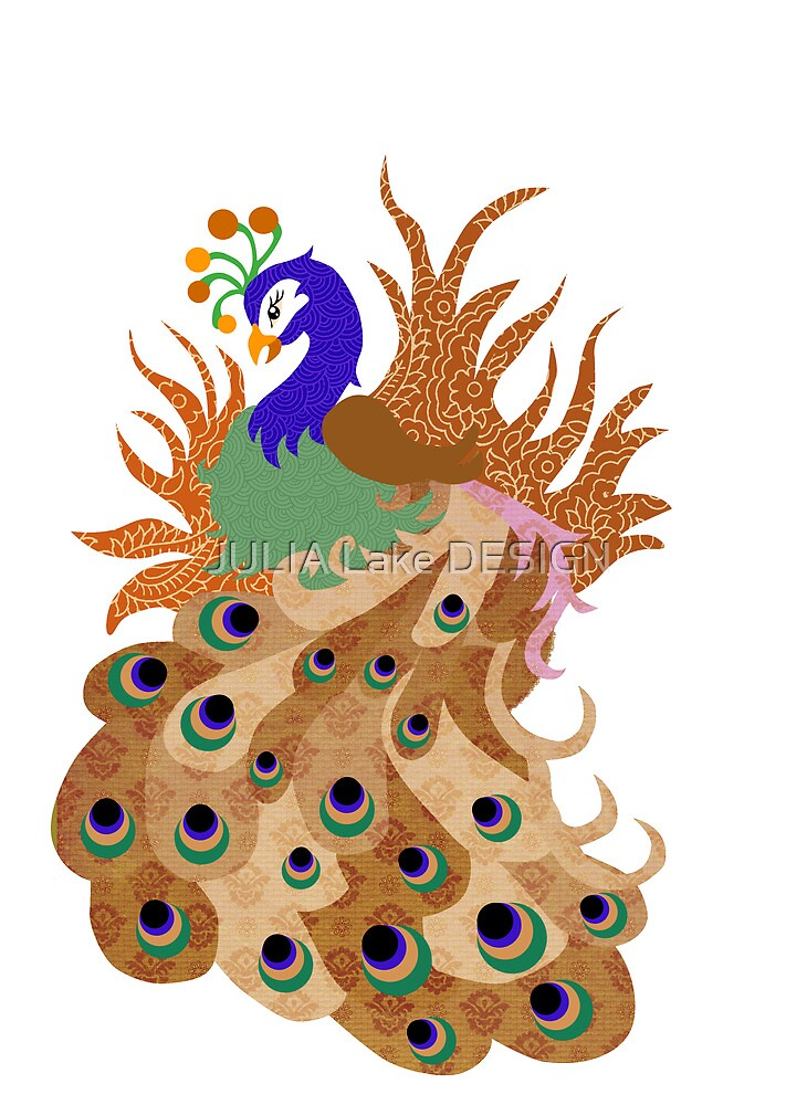 Peacock by JULIA Lake DESIGN
