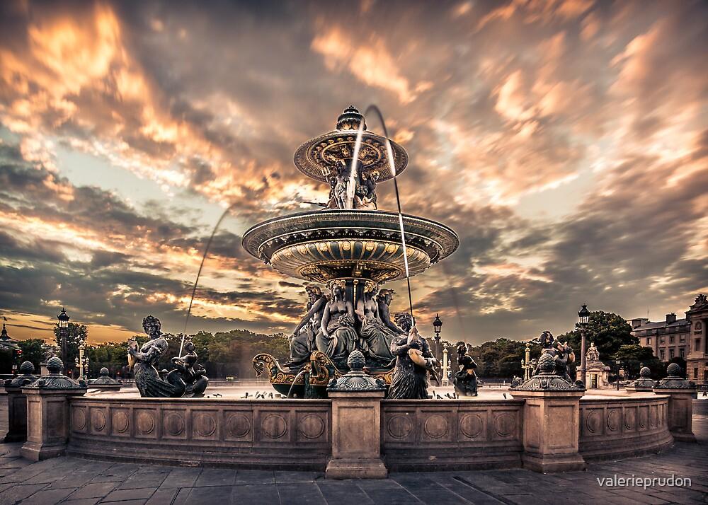La Concorde fountain by valerieprudon