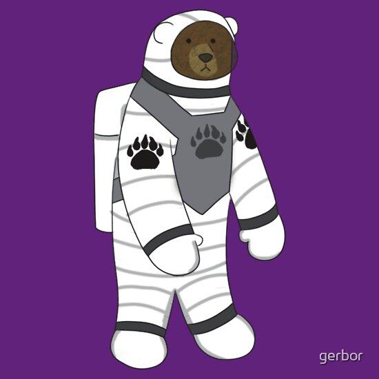 TShirtGifter presents: Astronaut bear  | Unisex T-Shirt