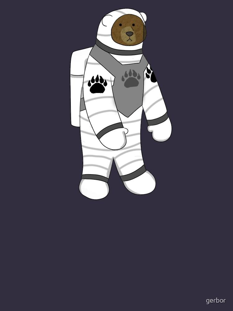Astronaut bear  by gerbor
