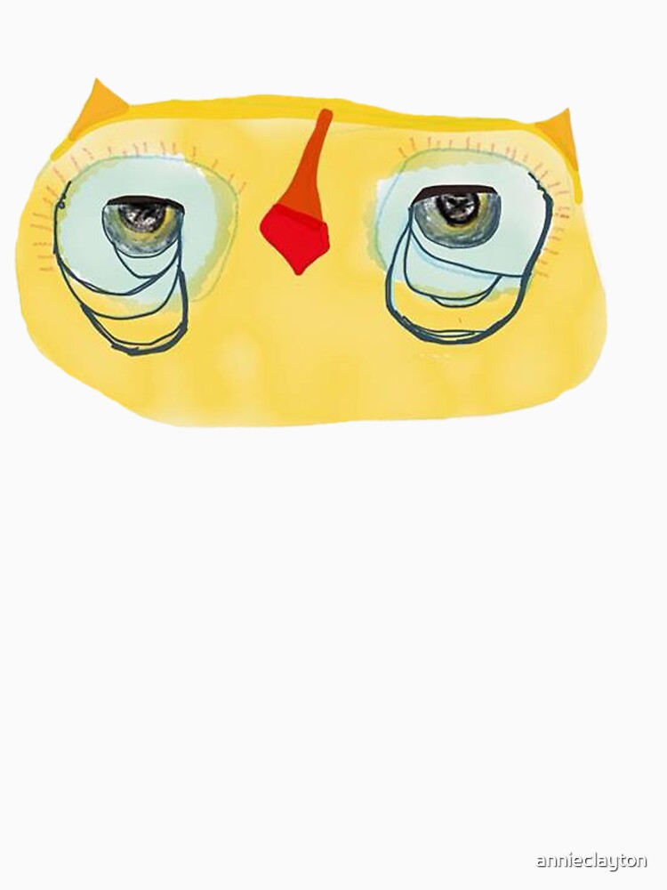 The Flat Yellow Owl by annieclayton