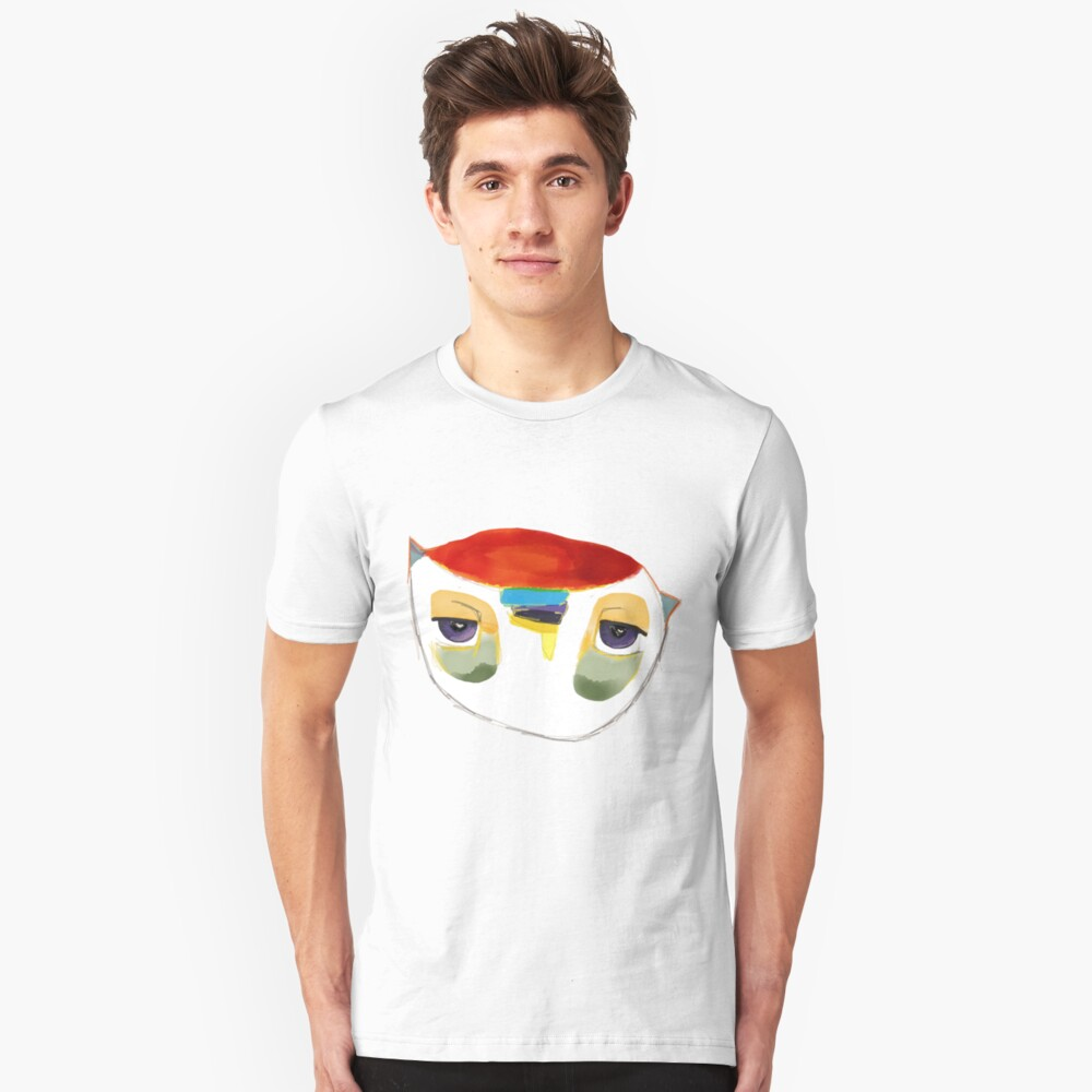 The Owl That is Judging You Unisex T-Shirt Front