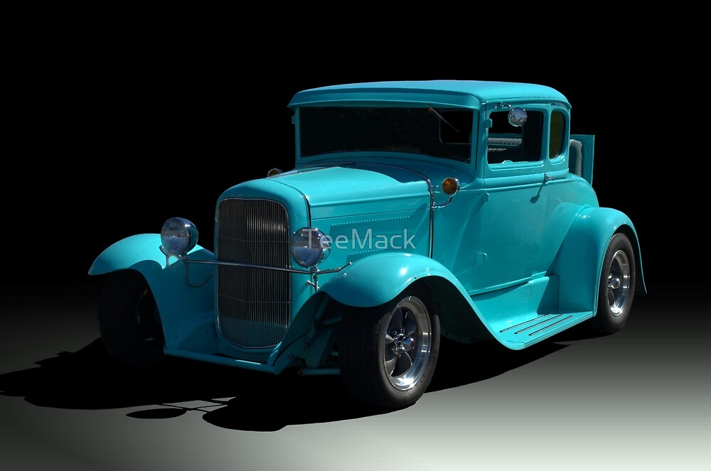 1930 Ford Coupe Hot Rod by TeeMack