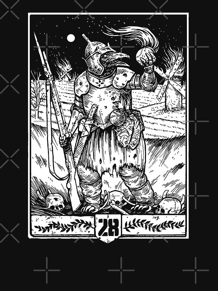 28 Weirdling Raider White by 28Mag