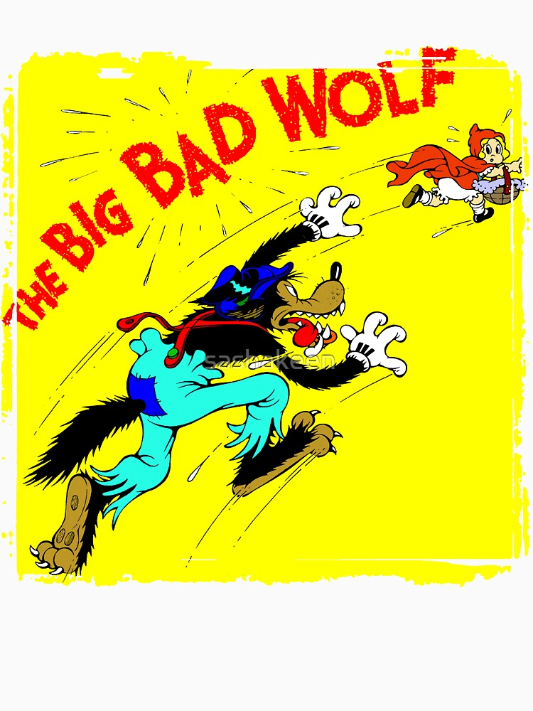 The Big Bad Wolf by sashakeen