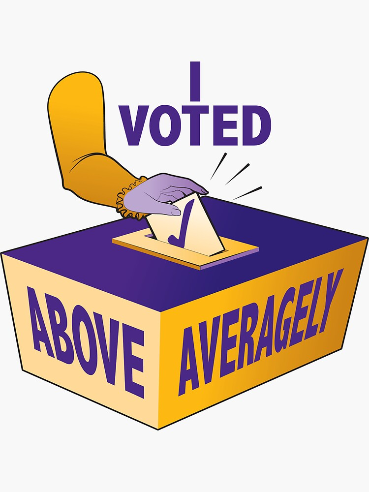 I voted above averagely by GalsGuide