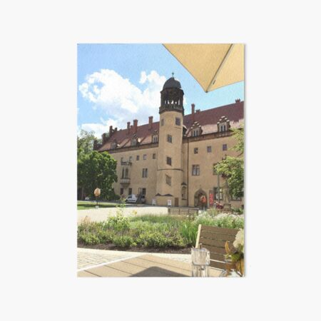 Martin Luther's Monastery Art Board Print