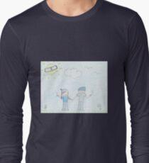 smoking Couple Long Sleeve T-Shirt