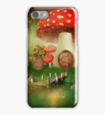 Creative cartoon mushrooms iPhone Case/Skin