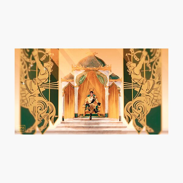 King of Almyra Photographic Print