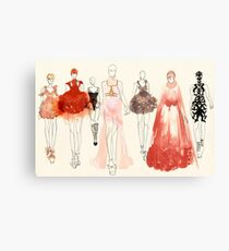 Alexander McQueen - 2013 Favorites Canvas Print