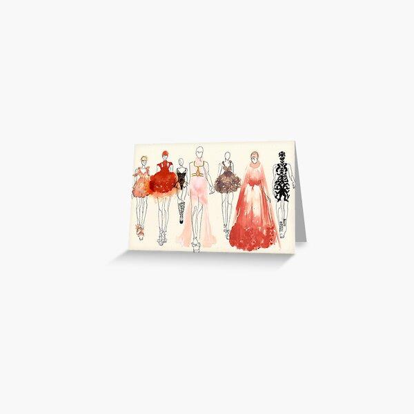 Alexander McQueen - 2013 Favorites Greeting Card