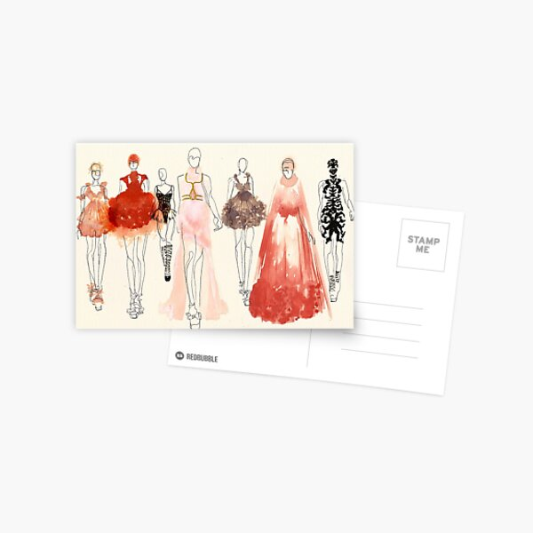 Alexander McQueen - 2013 Favorites Postcard