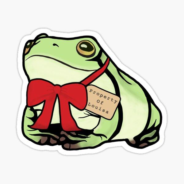 Louisa's Toad Sticker