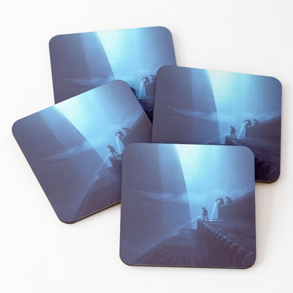 Exploring The Depths Coasters (Set of 4)