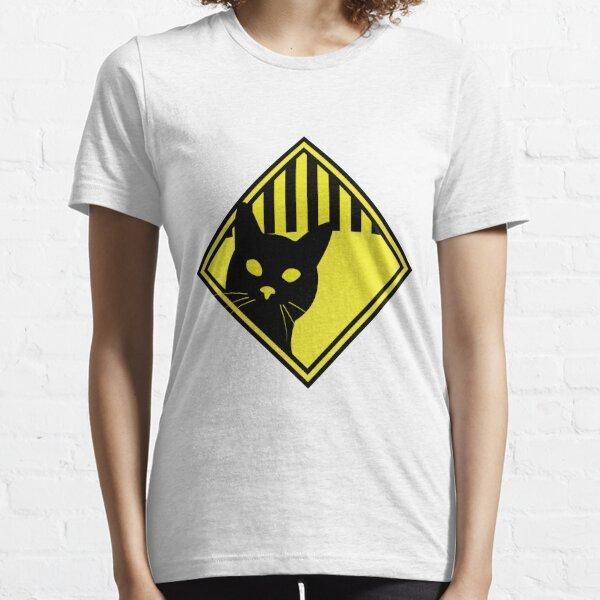Cat Warning Essential T-Shirt