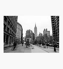 New York City streetscape Photographic Print
