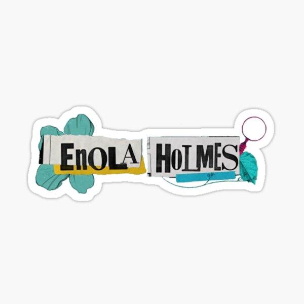 Enola Holmes, Millie Bobby Brown y Enola Holmes movie Pegatina